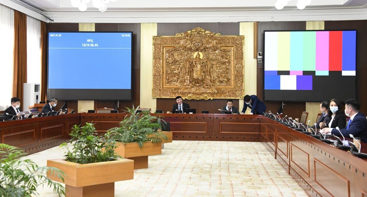 ХЗБХ: Монгол Улсын Ерөнхийлөгчийн хоригтой холбогдуулан УИХ дахь АН-ын бүлэг гурав хоногийн завсарлага авлаа
